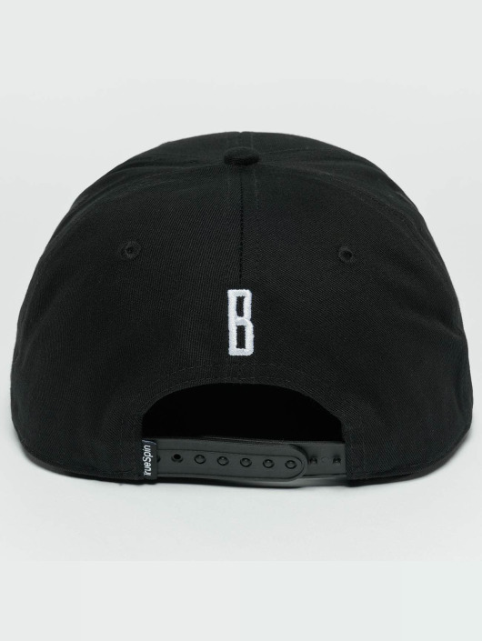 TrueSpin Snapback Caps ABC B czarny