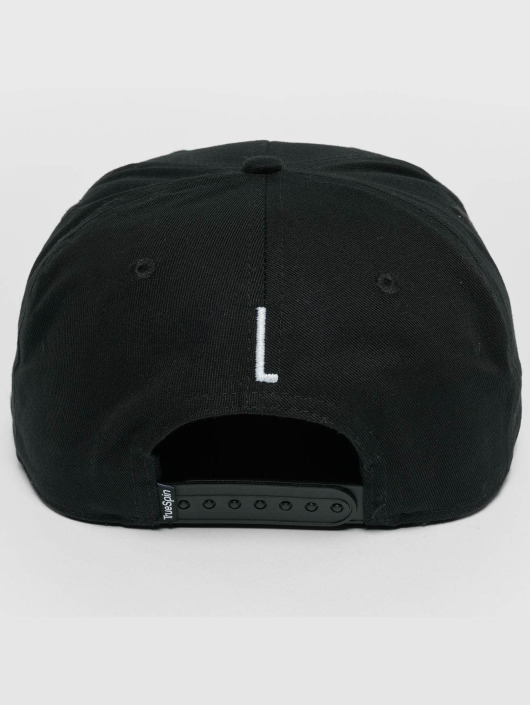 TrueSpin Snapback Caps ABC L czarny