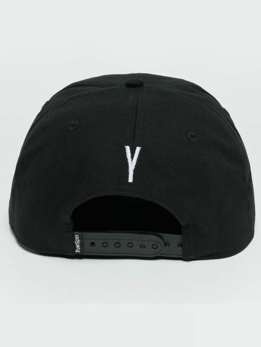 TrueSpin Snapback Caps ABC Y czarny