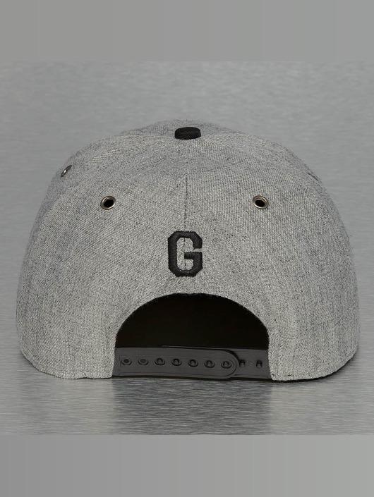 TrueSpin Snapback Caps ABC-G Wool harmaa