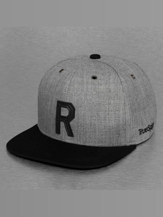 TrueSpin Snapback Caps ABC-R Wool harmaa