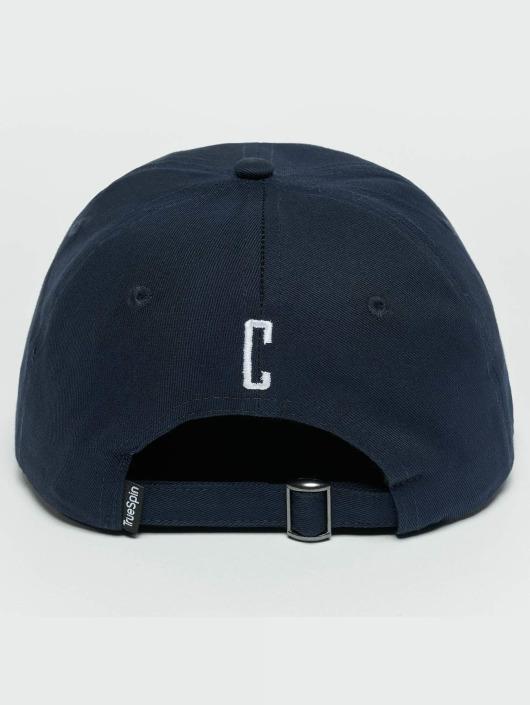 TrueSpin Snapback Caps ABC C modrý