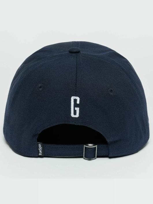 TrueSpin Snapback Caps ABC G modrý