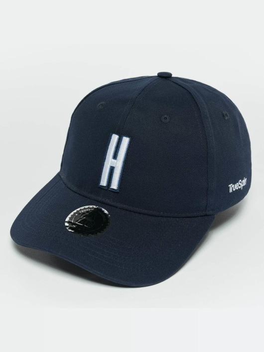 TrueSpin Snapback Caps ABC H modrý
