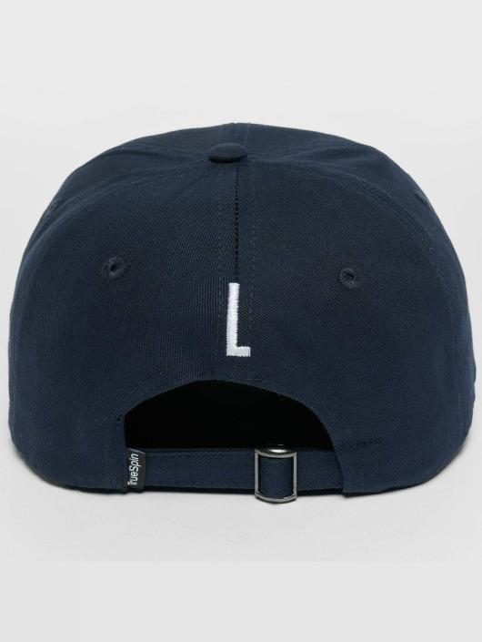 TrueSpin Snapback Caps ABC L modrý