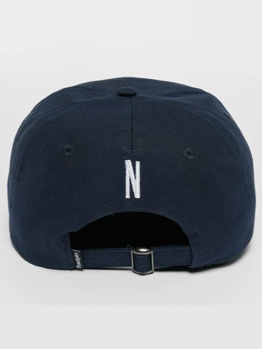 TrueSpin Snapback Caps ABC N modrý