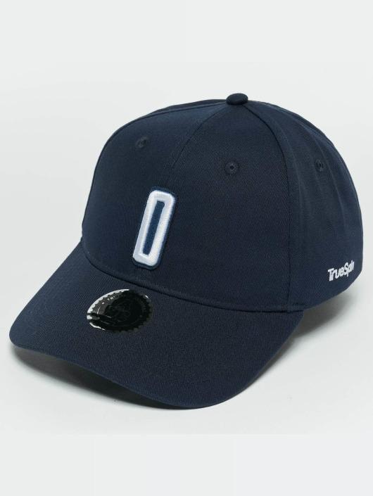 TrueSpin Snapback Caps ABC O modrý