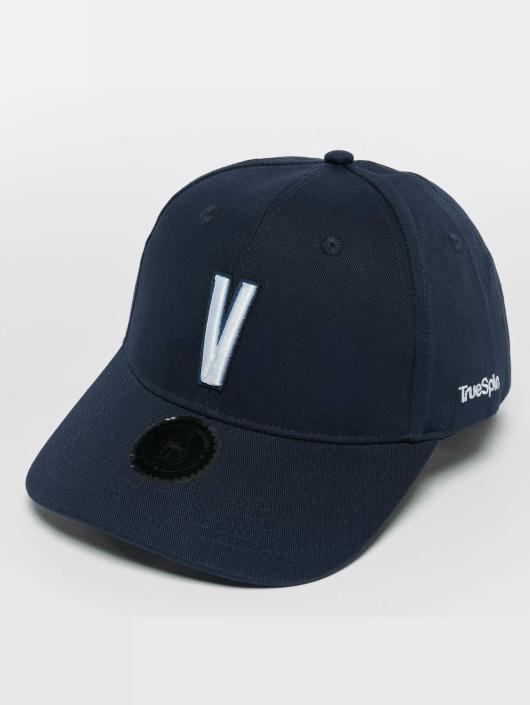 TrueSpin Snapback Caps ABC V modrý