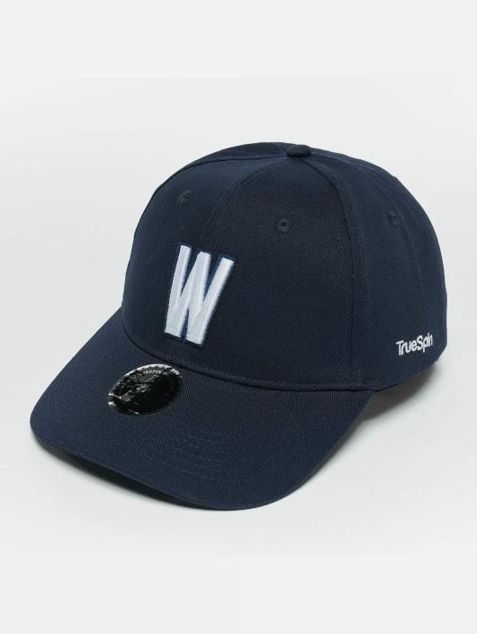 TrueSpin Snapback Caps ABC W modrý