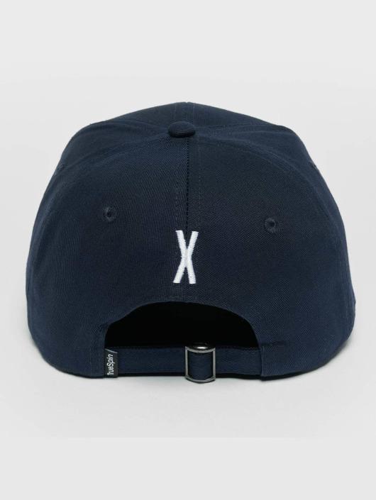 TrueSpin Snapback Caps ABC X modrý