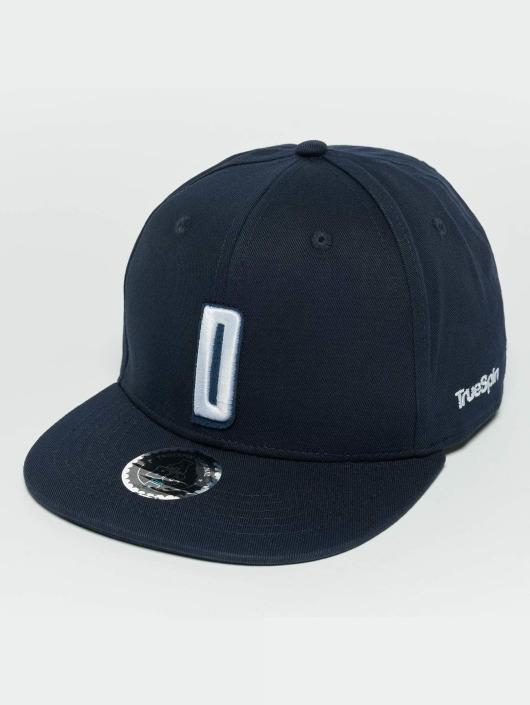 TrueSpin Snapback Caps Kids ABC D modrý