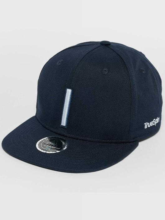 TrueSpin Snapback Caps Kids ABC I modrý