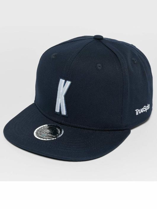 TrueSpin Snapback Caps Kids ABC K modrý
