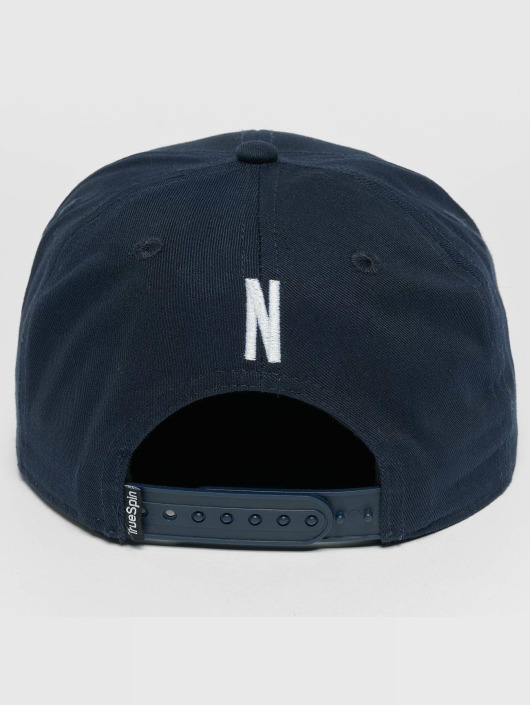TrueSpin Snapback Caps Kids ABC N modrý