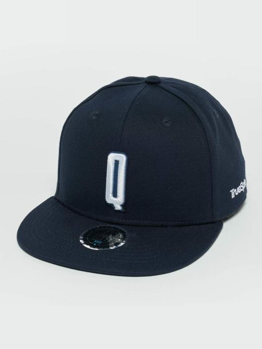 TrueSpin Snapback Caps Kids ABC Q modrý