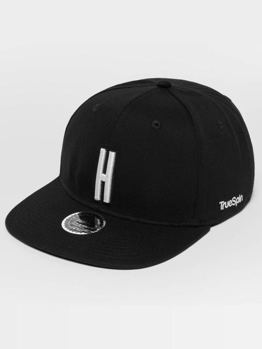 TrueSpin Snapback Caps ABC H musta