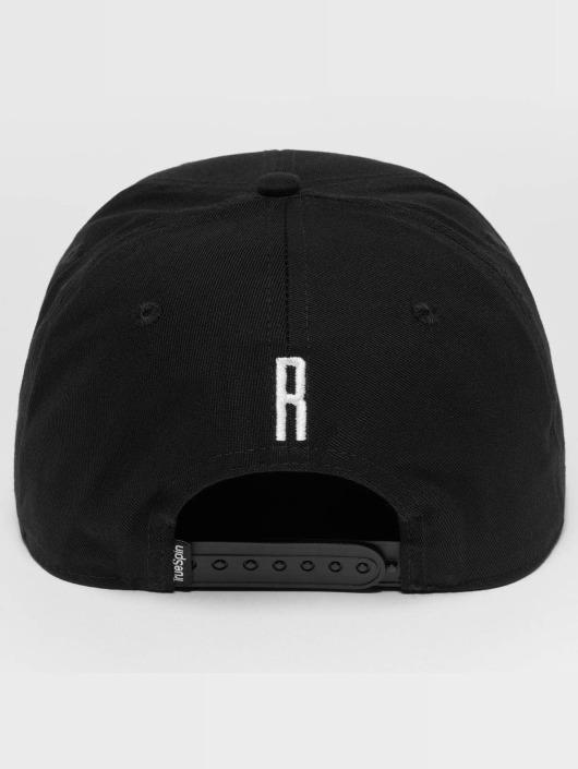 TrueSpin Snapback Caps ABC R musta