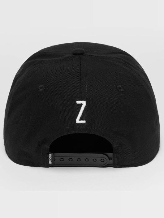 TrueSpin Snapback Caps ABC Z musta