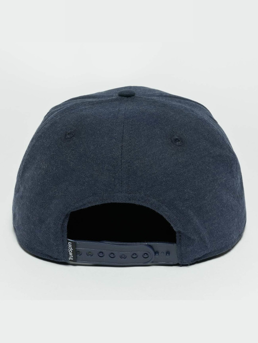 TrueSpin Snapback Caps Decent niebieski