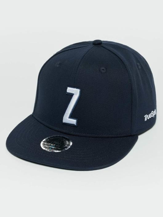 TrueSpin Snapback Caps Kids ABC Z niebieski