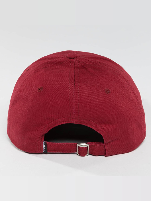 TrueSpin Snapback Caps Anker red