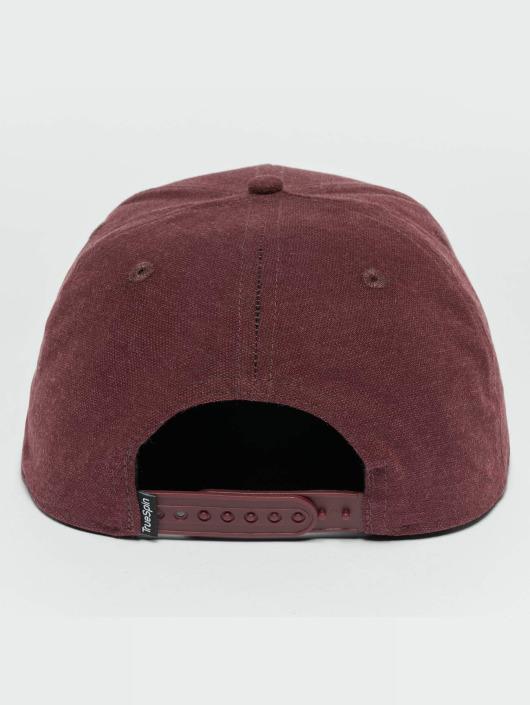 TrueSpin Snapback Caps Decent red