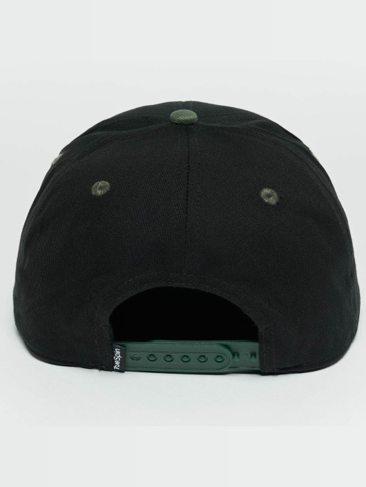 TrueSpin Snapback Caps Next Level svart