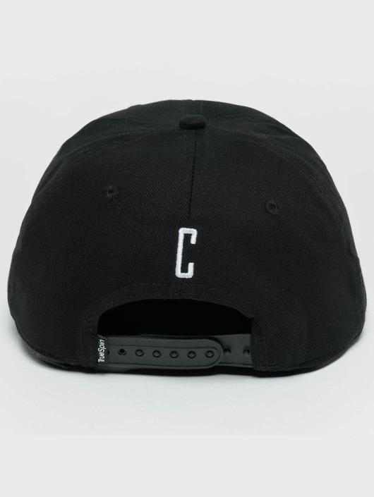 TrueSpin Snapback Caps ABC C svart