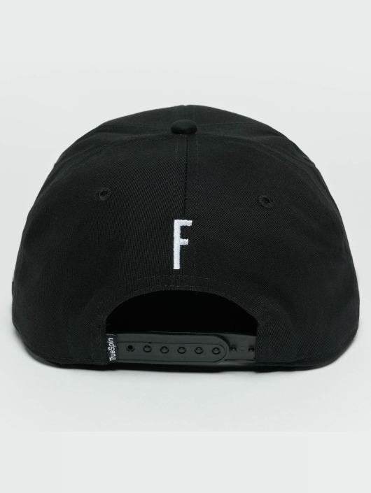 TrueSpin Snapback Caps ABC F svart