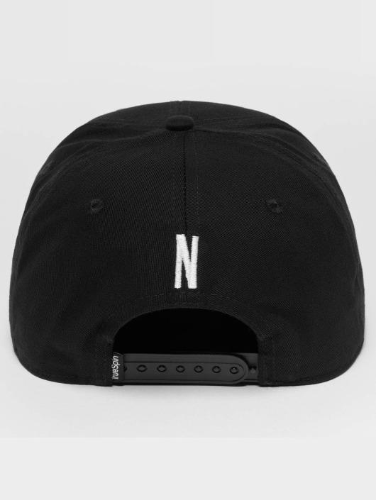 TrueSpin Snapback Caps ABC N svart