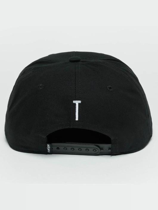 TrueSpin Snapback Caps ABC T svart