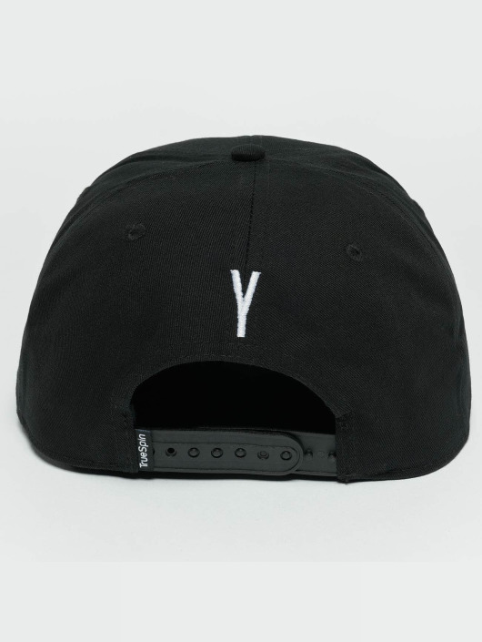 TrueSpin Snapback Caps ABC Y svart