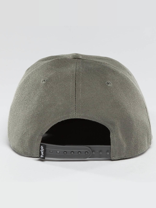 TrueSpin Snapback Caps Blank zielony