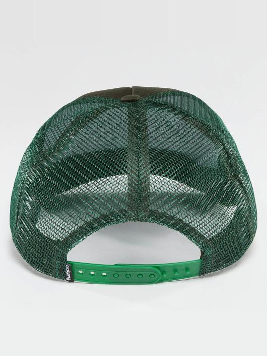 TrueSpin Trucker Caps Blank zelený
