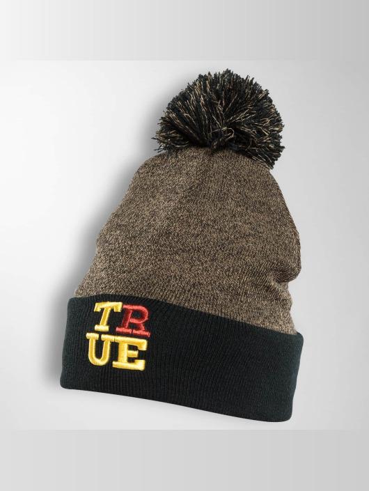 TrueSpin Wintermütze 4 Letters schwarz