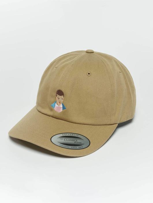 TurnUP Snapback Caps Nose Bleed béžový