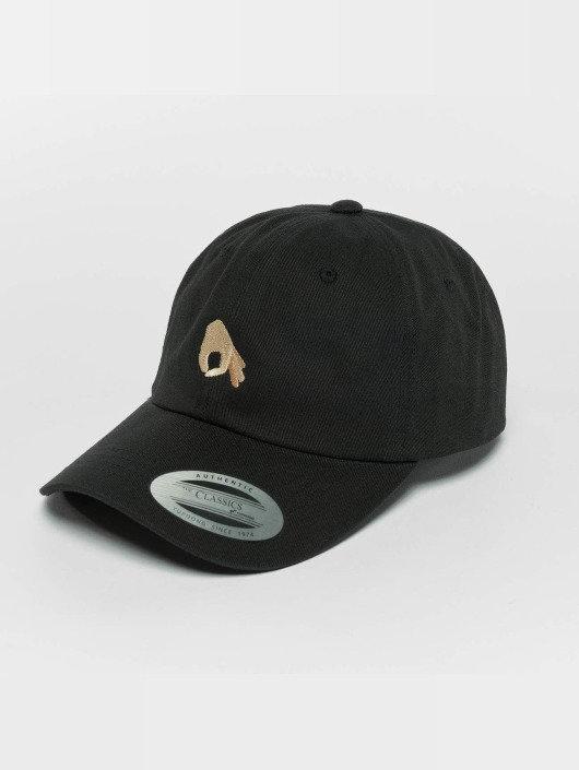 TurnUP Snapback Caps Neigschaut musta