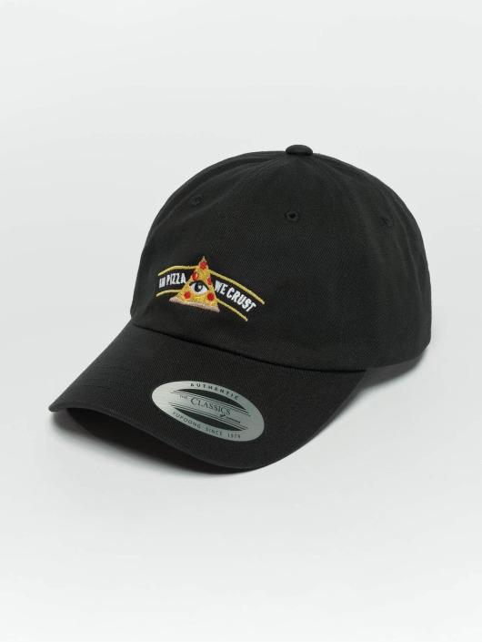 TurnUP Snapback Caps Crust svart