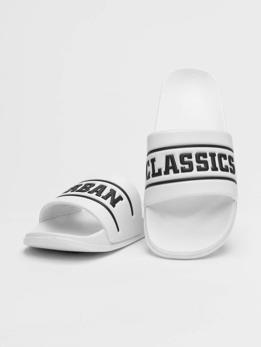 Urban Classics Badesko/sandaler UC Slides hvit