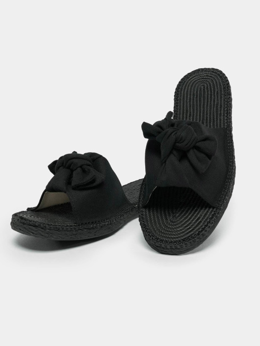 Urban Classics Badesko/sandaler Canvas Mules svart