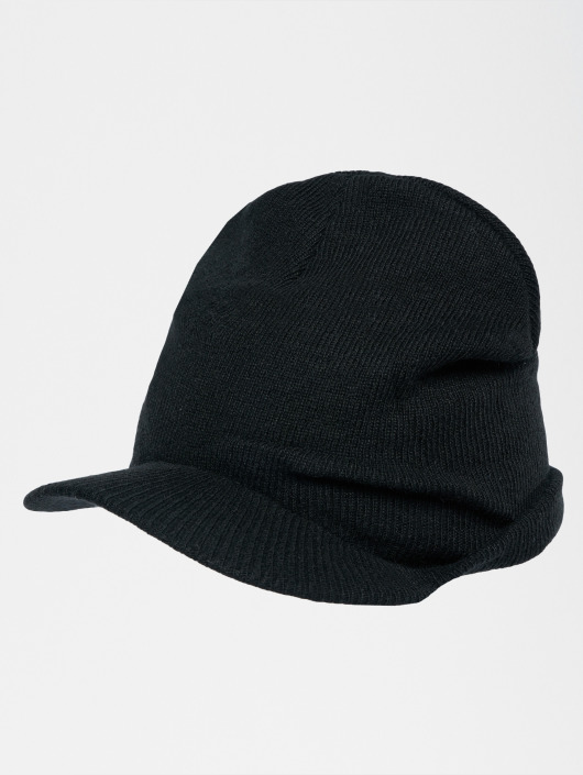 Urban Classics Beanie Visor zwart