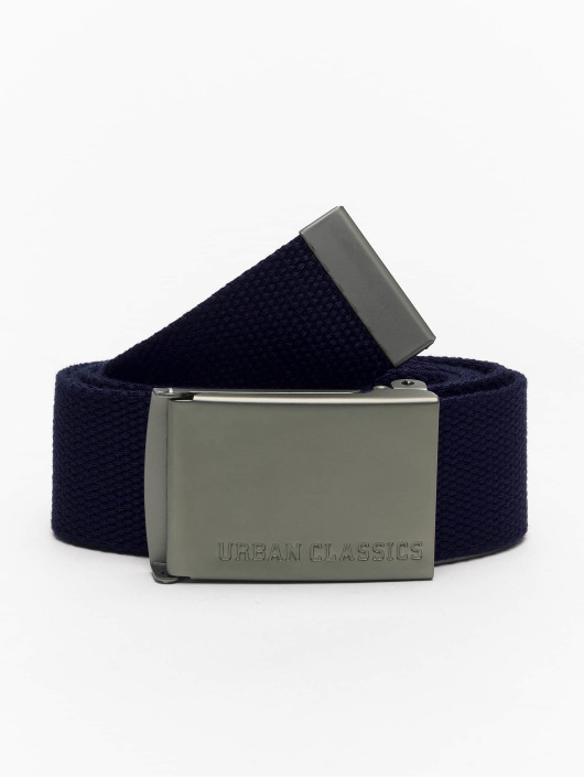 Urban Classics Belt Canvas blue