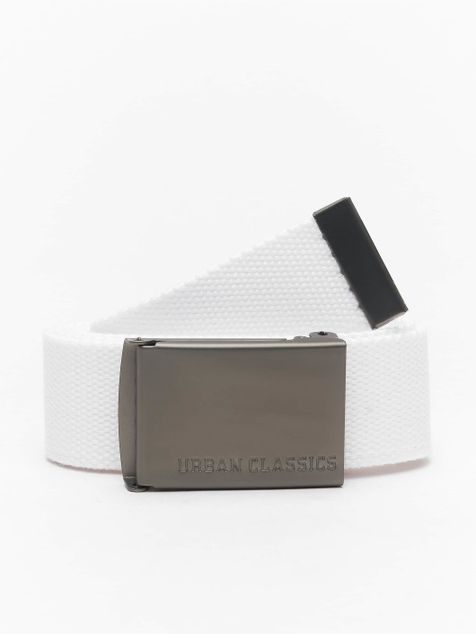Urban Classics Belts Canvas hvit
