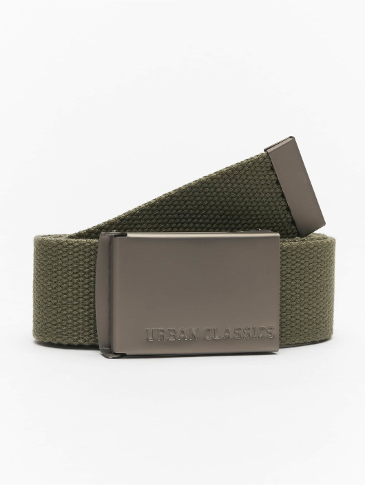 Urban Classics Belts Canvas oliven