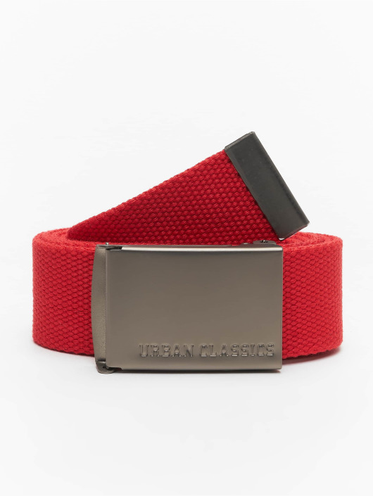 Urban Classics Belts Canvas red