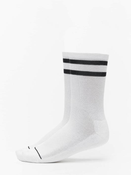 Urban Classics Socken 2 Tone College Double Pack weiß