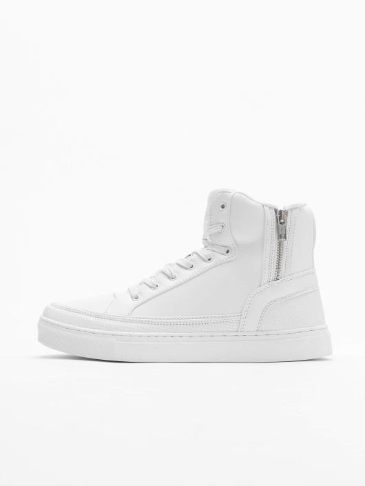 Urban Classics Tøysko Zipper hvit