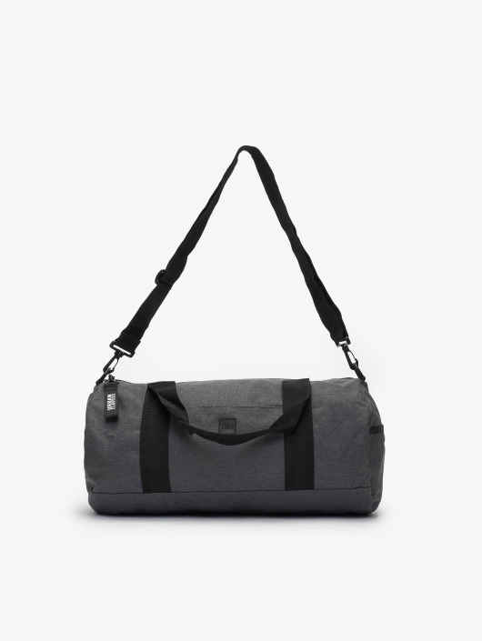 Urban Classics Torby Canvas Classic Weekender szary