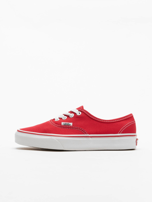 vans authentic rouge