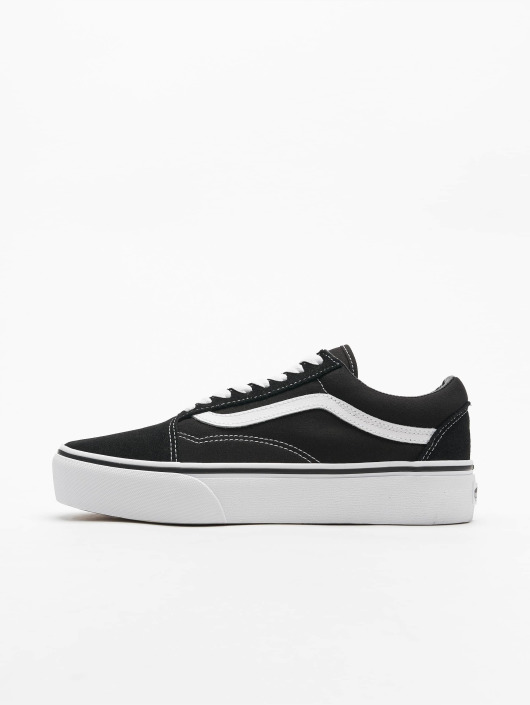 Vans Old Skool Platform Sneakers Black/White
